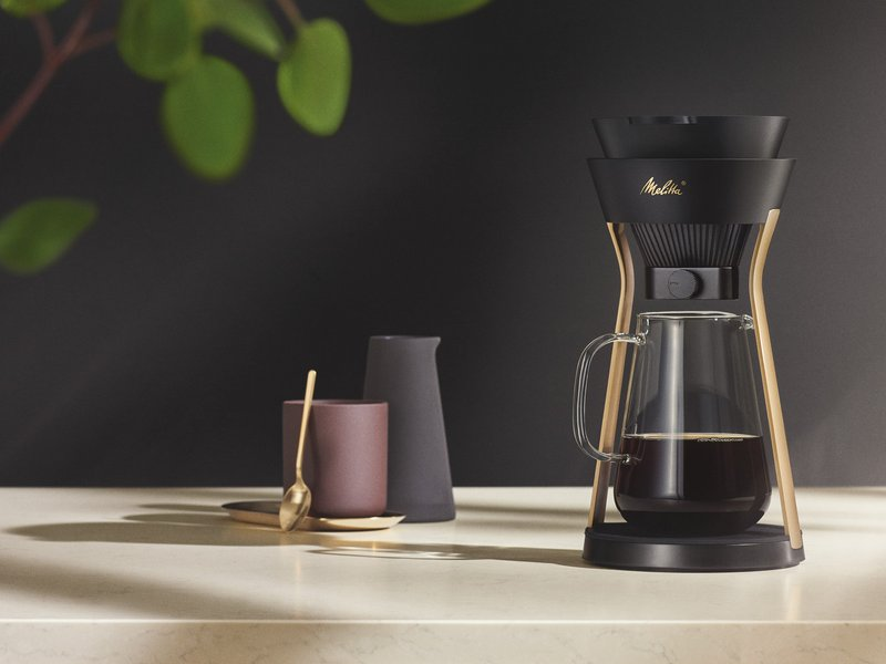 Melitta® AMANO: a Pour Over coffeemaker with ingenious functionality and an elegant design